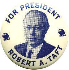 Robert Taft button