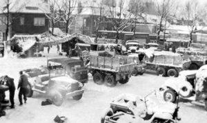 Shop area, Heerlen, 1945